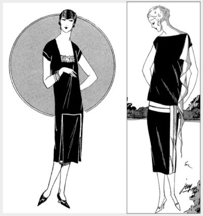 Маленькое черное платье, 1925 год