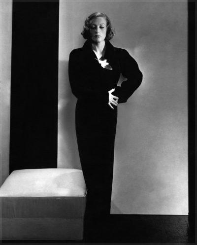 Маленькое черное платье от Эльзы Скиапарелли, 1932 год