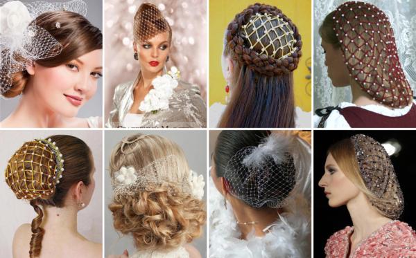 Сеточки для волос
