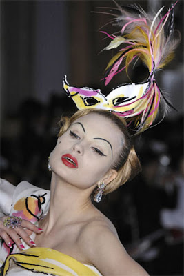 Показ Dior, осень-зима 2007