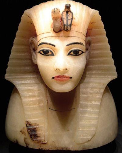 Крышка канопы в виде головы Тутанхамона