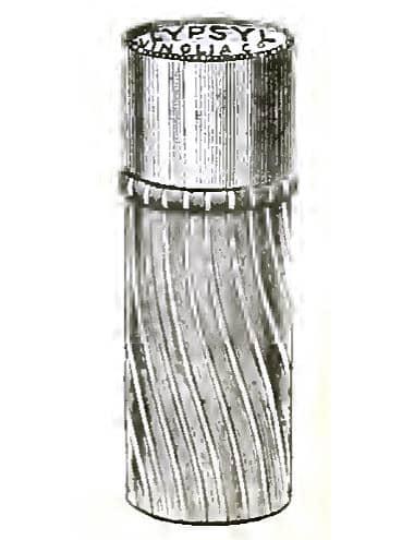 Рифленый тюбик Vinolia, 1899