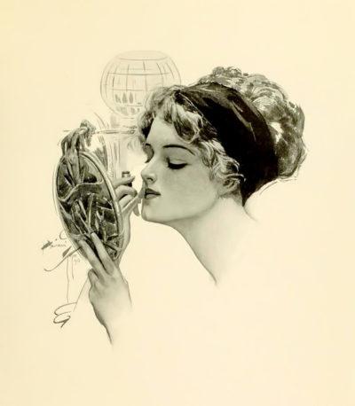 Картина Харрисона Фишера, 1910