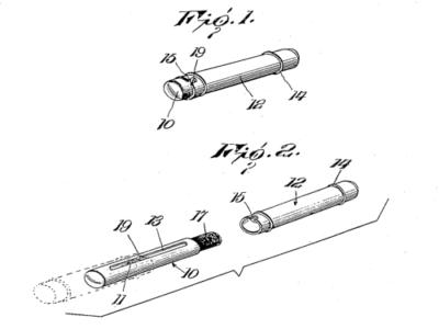 Схема из патента Уильяма Кендалла, 1917