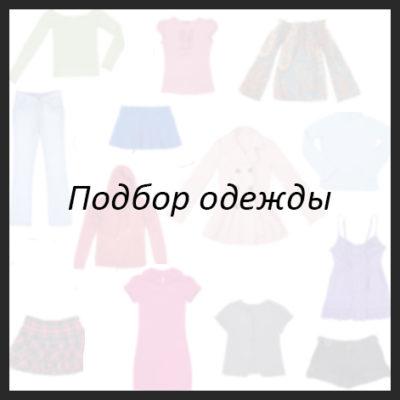 подбор одежды лук
