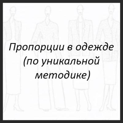пропорции в одежде