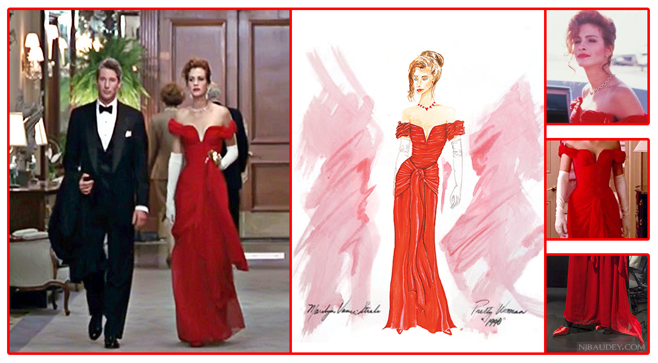 Купить алое платье как уДжулии Робертс изКрасотки — легко