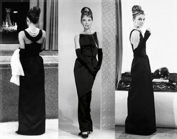 длинное черное платье холлли голайтли из фильма завтрак у тиффани