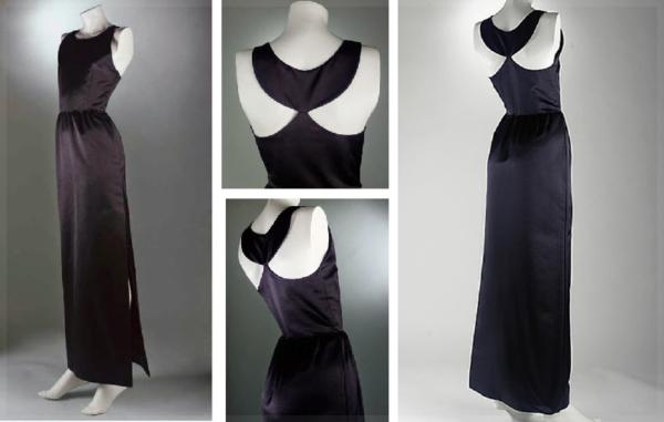 Платье Живанши, выставленное в Музее костюма в Мадриде