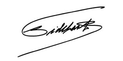 Подпись Фиделя Кастро