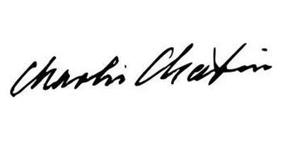 Подпись Чарли Чаплина