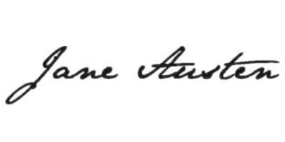 Подпись Джейн Остин