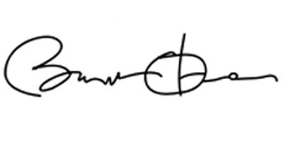 Подпись Барака Обамы
