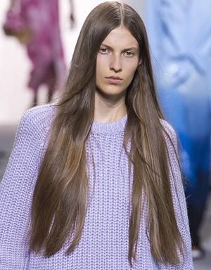 Очень длинные волосы, Michael Kors Collection