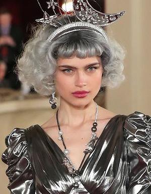 Серебряные волосы, Dolce & Gabbana