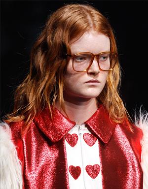 Рыжие волосы, Gucci