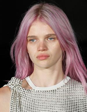 Розовые волосы, Alexander Wang
