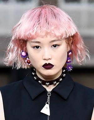 Розовые волосы, Kenzo