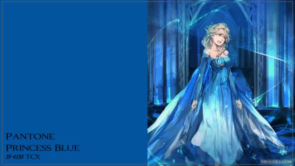 Princess Blue Принцессин синий (Синий для принцессы)