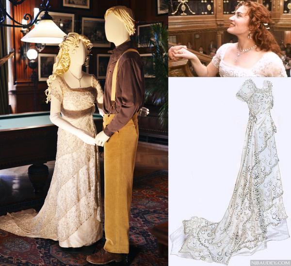 Небесное райское платье Розы из Титаника