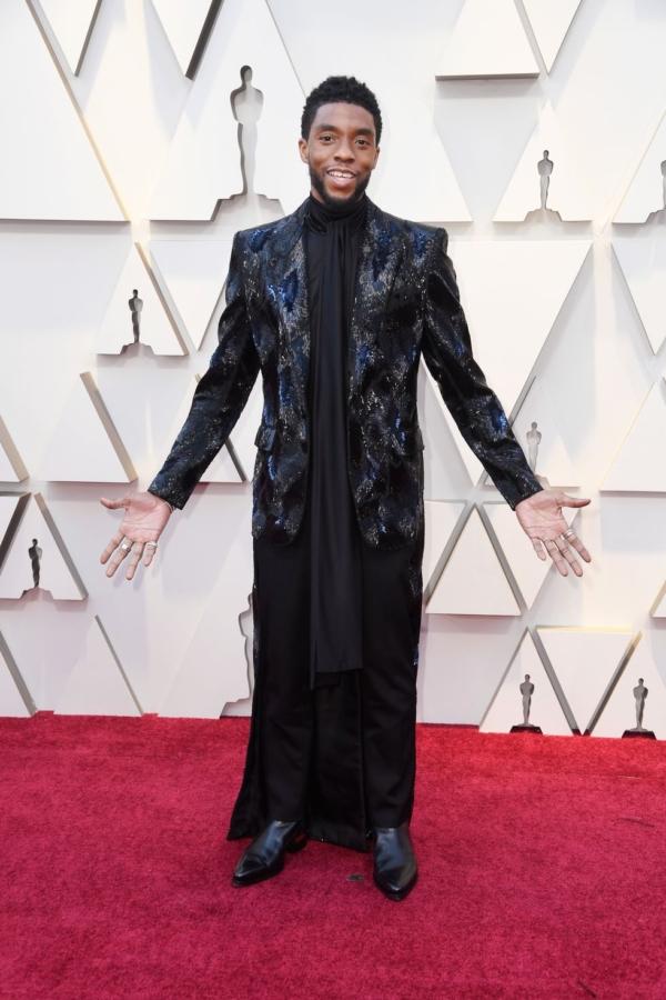Chadwick Boseman 2019 Oscars