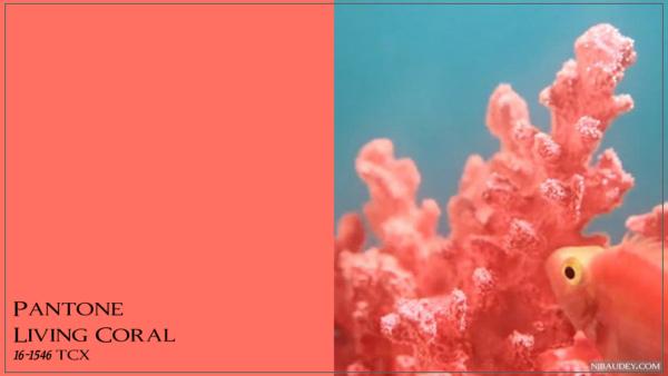 Living Coral Живой Коралл