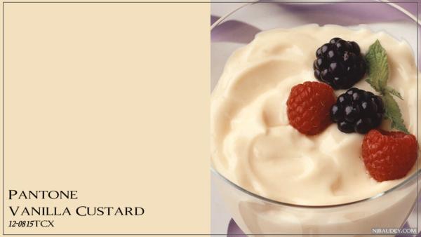 Vanilla Custard Ванильный заварной крем