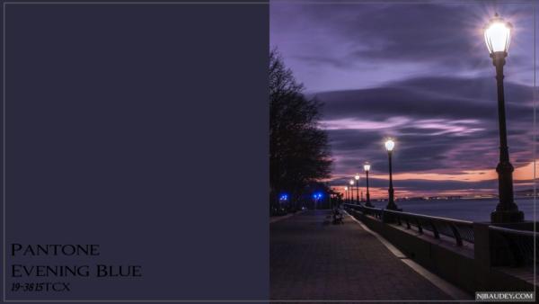 Evening Blue Вечерний синий