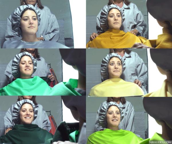 определение цветотипа тест с драпировками