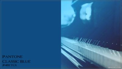 PANTONE 19-4052 Classic Blue Классический синий