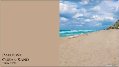 PANTONE 15-1314 Cuban Sand Кубинский песок