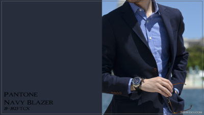 PANTONE 19-3923 Navy Blazer Темно-синий пиджак (морской пиджак)