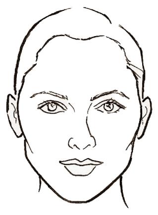 лицо ромб