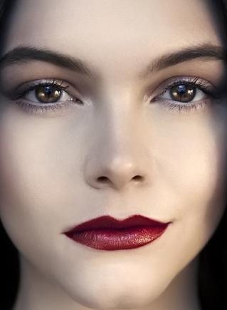 макияж темной зимы