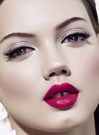 макияж холодной зимы